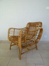 ancien fauteuil rotin osier janine abraham rattan chair franco albini ico parisi