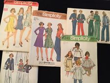 Vintage sewing patterns 60's 70's womens - peasant hippie boho bell groovy smock