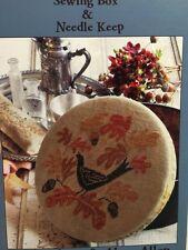 Blackbird Designs AUTUMN SONG Loose Feathers #27 cross stitch pattern OOP