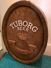 Turborg on draught faux wood half barrel