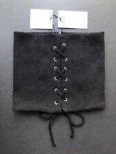 Bershka Corsé Cinturón Negro Talla UK 34 - 99% algodón 1% Elastano-Nuevo con etiquetas