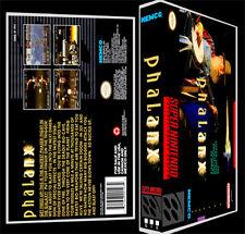 Phalanx - SNES Reproduction Art Case/Box No Game.