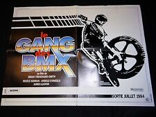 LE GANG DES BMX   !  rare model 2 affiches cinema  velo