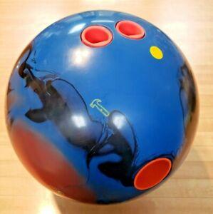 HAMMER RIP'D SOLID BOWLING BALL 15LB. LH - 1 DRILL