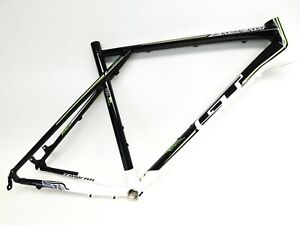 "2013 GT Zaskar Pro LE 9r 6061 Aluminum Hardtail Mountain Bike Frame 29"" White XL"