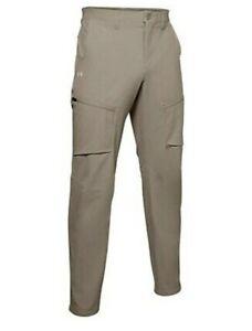 Under Armour UA Storm Fish Hunter Canyon Cargo Pants 1352692-299 Size 42x36 $90