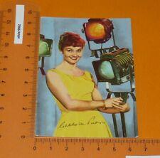 CARTE PHOTO 1958-1959 ACTRICE CINEMA MOVIE LISELOTTE PULVER UFA FILM