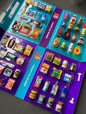 Coles Little Shop 1 & 2 Full Collection Set Mini Collectables Case