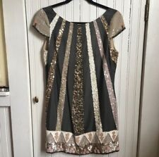 All Saints Aztec Dazzle Spitalfields Sequin Dress Size 6 (Europe 10) (375$)