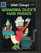 Four Color #1073 ~ Grandma Duck's Farm Friends / Barks CVR art  ~ 1960 (4.5) WH