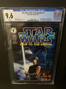 Star Wars Heir to the Empire #1 CGC 9.6 1st appearance of Thrawn Mara Jade