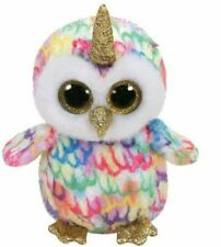 Ty Beanie Babies Boos Enchanted Owl With Horn Plush Soft Toy 15cm