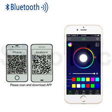 Wireless Bluetooth RGB LED Strip Light Music Remote For Cellphone APP Control