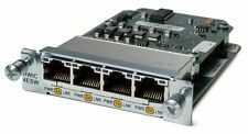 Cisco HWIC-4ESW-POE 802.3af POE Module w/ ILPM-4 for 2811 2821 2851 3800 Router