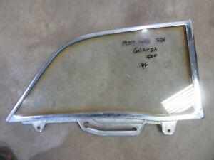 1959 Ford Galaxie Fairlane 2 door hardtop QUARTER glass trim molding frame PR