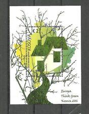 KOSOVO   2016 Europa Cept, Think Green,Enviroment, Ecology Block   MNH