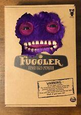 Rare Spin Master Fuggler Purple Furry Mr. Buttons Plush Monster