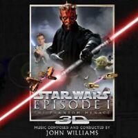 JOHN WILLIAMS - STAR WARS: EPISODE I-DIE DUNKLE BEDROHUNG CD SOUNDTRACK NEU