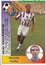 342 NILSON ESIDIO BRASIL REAL VALLADOLID STICKER CROMO LIGA 1995 PANINI