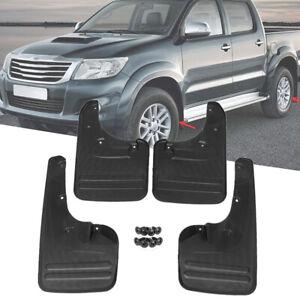 4x For Toyota Hilux Vigo 2006-2014 Car Mud Flaps Mudguards Fender Splash Guards