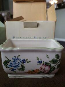 Princess House Vintage Garden Sugar Packet Holder Retired