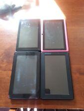 Tablet Lot of 4 Parts Repair Pink Black Electronics Rca Prontotec