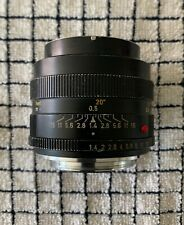 Leica SUMMILUX-R 50mm f/1.4 3-cam SLR lens Free Shipping in the USA