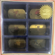 POKEMON Collectible Dog Tags Limited Edition SEARS Exclusive Set New in Box 1999