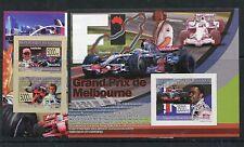 Guinea 5789/94 Kleinbogen Block 1573 ungezähnt postfrisch / Formel 1 .....1/2458