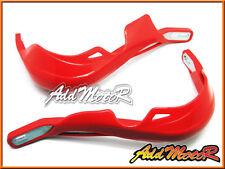 Addmotor Red Brush Hand Guards Honda XR CR XL TRX CRF 250 350 400 450 600 650