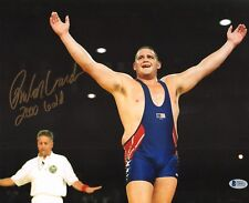 Rulon Gardner Signed 11x14 Photo BAS COA 2000 Olympic USA Wrestling Gold Picture