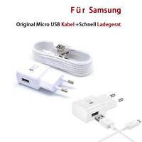 Original Micro USB EU Ladegerät Adaptive Ladekabel für Samsung Galaxy S7 z30