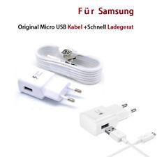 Original Micro USB EU Ladegerät Adaptive Schnell Ladekabel für Samsung Galaxy S7