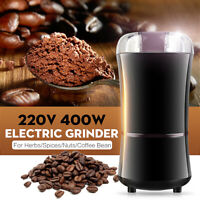 400W 220V Electric Coffee Bean Grinder Herbs Spices Nuts Grinding Mill Machine