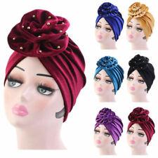 Velvet Beanie Hats for Women