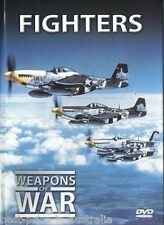 WEAPONS OF WAR - Fighters  DVD + BOOK WORLD WAR TWO WWII Air Planes BRAND NEW R0
