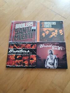 CD-Sammlung Broilers - 4 Alben - Lofi /(SIC!) / Santa Muerte