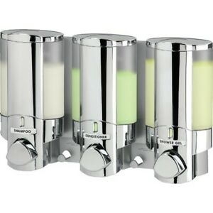 Better Living Products Aviva III Soap Dispenser with Translucent Bottle
