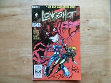 1986 LONGSHOT # 6 DR. STRANGE SIGNED 2X ART ADAMS & ANN NOCENTI  WITH POA
