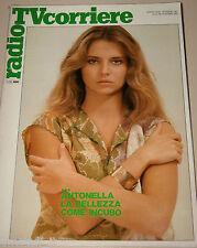 TV RADIOCORRIERE=1981/45=ANTONELLA INTERLENGHI=CLAUDIO CECCHETTO=POLICE=PETRELLA
