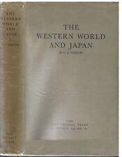 The Western World & Japan by George B Sansom rev 1950 pub Cresset Press