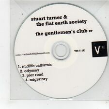 (FU259) Stuart Turner & The Flat Earth Society, The Gentlemen's Club EP - DJ CD
