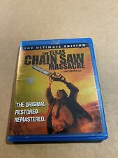 The Texas Chainsaw Massacre (Blu-ray Disc, 2008) Ultimate Edition Horror