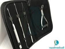Anello Micro Kit di estensione dei capelli, estensione dei capelli Pinze trazione, Loop & uncinetto ago