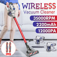2-In-1 12000Pa Cordless Upright Handheld Stick Vacuum Cleaner Suction Brush Tool