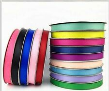 10yards Grosgrain Ribbon 3/8 inches 10mm You Pick Color for Craft
