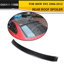 Carbon Fiber Rear Roof Spoiler Upper Wing Lip Fit For BMWE92 Coupe E92 M3 2-Door