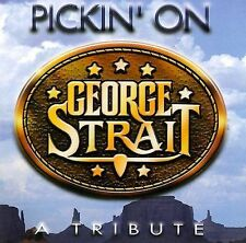 FREE US SHIP. on ANY 3+ CDs! ~Used,Good CD Pickin' on George Strait: Pickin' on