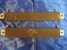 IRC 646 RESISTOR 75w 250 ohm 75 watt flat wirewound 250  ceramic &mounts usa nos