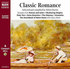 Classic Romance Great Romantic Moments from Literature by ALEX JENNINGS 4CDS